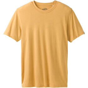 Prana Rundhals T-Shirt Herren marigold heather